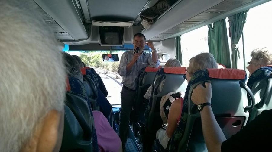 Otobüs içinde Anlatım